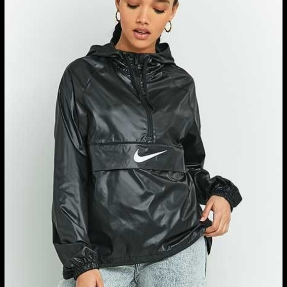 Nike Jackets & Blazers - Nike nsw packable 1/4 zip hooded pullover